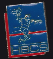 64591- Pin's-HBCS - Hand-Ball Club .Semur-en-Auxois.Côte-d'Or - Handball