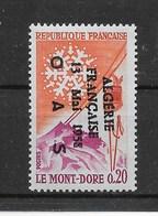 """N° 1306**, Avec Surcharge Patriotique """" ALGERIE Fse 13 MAI 1958 OAS """". - Unused Stamps"""