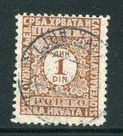 YOUGOSLAVIE- Taxe- Y&T N°61- Oblitéré - Portomarken
