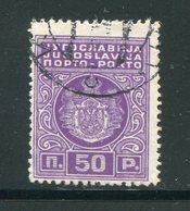 YOUGOSLAVIE- Taxe- Y&T N°78- Oblitéré - Portomarken