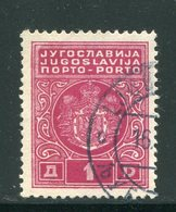 YOUGOSLAVIE- Taxe- Y&T N°79- Oblitéré - Portomarken