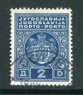 YOUGOSLAVIE- Taxe- Y&T N°80- Oblitéré - Portomarken