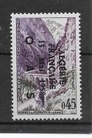 """N° 1 237**, Avec Surcharge Patriotique """" ALGERIE Fse 13 MAI 1958 OAS """". - Unused Stamps"""