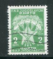 YOUGOSLAVIE- Taxe- Y&T N°115- Oblitéré - Portomarken