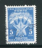 YOUGOSLAVIE- Taxe- Y&T N°116- Oblitéré - Portomarken