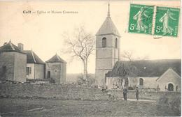 Cult - Eglise Et Maison Commune - Autres Communes