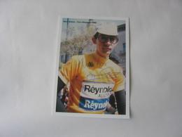 Autographe - Cyclisme - Marc Gomez - Cycling