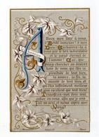 Citation De Léonardus Lessius, Attirez Mon âme, Lettrine, Enluminure, éd. Maingault - Images Religieuses