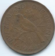 New Zealand - George VI - 1942 - Penny - KM13 - Nouvelle-Zélande