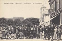 CPA 89 - BUSSY EN OTHE - La Prisonnière .... Des Terrassiers - Elle Ne Passera Pas - Grèves De 1914 Chantier Train. - Labor Unions