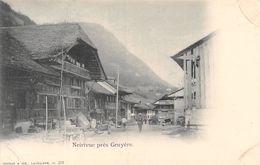 Neirivue Près Gruyère - Rue Animée - FR Fribourg