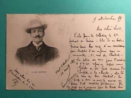 """Jules Guerin Fort Chabrol Avec Texte à Lire """" Prisonnier .. Il Est Jugé En Ce Moment Par La Haute Cour De Justice"""" - Manifestations"""