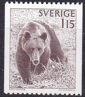 Schweden, 1978,  Mi. Nr.: 1021, MNH ** Natur: Braunbär - Suède
