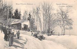 Mont Pélerin Sport D'Hiver Courses De Bobs - VD Vaud