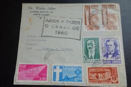 LETTRE Censurée De 1960 Pour Mazamet - Brazil