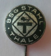BSG Stahl Thale  GERMANY DDR FOOTBALL CLUB SOCCER / FUTBOL / CALCIO PINS BADGES P4/2 - Fútbol