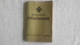 Evangelisches Feldgesangbuch Deutsches Soldatentum 1 WK Militär - 1914-18