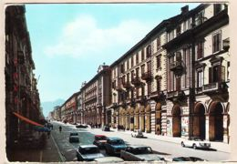 It091 Italia  Piemonte CUENO  Corso NIZZA NICE Avenue  Cours Allée 1960s Fotocolor KODAK CARIGNANO - Cuneo