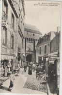 CPA   50   LE MONT SAINT MICHEL   HOTEL POULARD AINE  GRANDE RUE  26 - Le Mont Saint Michel