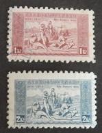"TCHÉCOSLOVAQUIE YT 290/291 OBLITÉRÉS  ""HYMNE NATIONAL"" ANNÉE 1934 - Used Stamps"