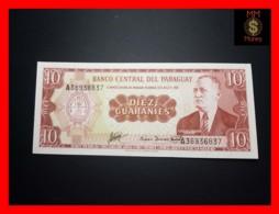 PARAGUAY 10 Guaranies 1963 P. 196 B  UNC - Paraguay