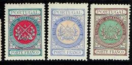 Portugal Franchise UACP Af. 1 2 8 Yv. 1 2 8 * - Franchise