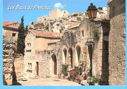 """Les Baux De Provence (Bouches Du Rhône)-Belle Vue Du Village-Galerie-Artisanat D'Art """"Baux-Arts"""" - Les-Baux-de-Provence"""