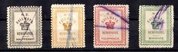 Nouvelle-Zélande Quatre Timbres Pour Journaux Anciens Oblitérés. B/TB. A Saisir! - Used Stamps