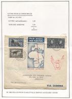 REF1079/ TP 232 75° Anniversaire+TP Congolais S/L.Avion C.BXL 28/10/36 > Stanleyville 31/10/36 Retour BXL 5/12/36 - Marcophilie