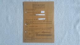 Entlastungs - Zeugnis Beckum Entnazifizierungsausschuß 1948 - 1939-45