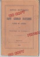 Au Plus Rapide Correns Var Notice Historique Saint Germain D'Auxerre Patron De Correns Année 1876 - Histoire