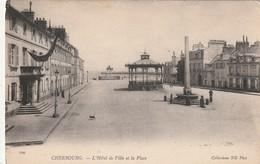 50 Cherbourg. Lot De 2cp. Hotel De Ville Et Casino - Cherbourg
