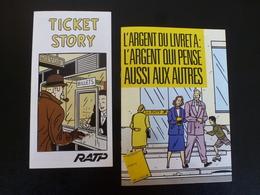 FLOCH Folders RATP + Poste - Autocollants