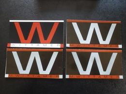 Wittamer Galerie : 4 Cartons Invitation Expos - Autocollants