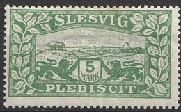 Slesvig 1920 N° 13 MH Édition Danoise-allemande (G3) - Germany