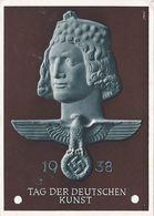 (20/335) WK II 3. Reich Propaganda Karte Tag Der Deutschen Kunst 1938 - Guerre 1939-45