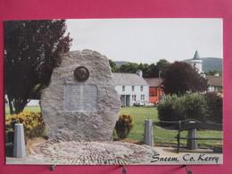 Visuel Pas Très Courant - Irlande - Sneem - CO. Kerry - Stèle En Mémoire De Charles De Gaulle - Recto Verso - Kerry
