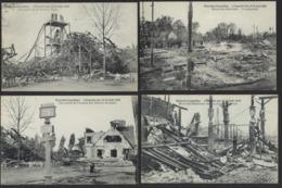 BRUXELLES * EXPOSITION 1910 * L INCENDIE * 12 CARTES POSTALES DIFFERENTS* EXPO BRUSSELS 1910 * 12 DIFFERENT POSTCARDS - 5 - 99 Postkaarten