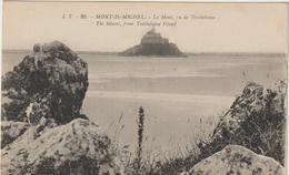 CPA    50   LE MONT SAINT MICHEL   LE MONT VUE DE TOMBELAINE  JP  99 - Le Mont Saint Michel