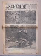Journal EXCELSIOR 21 Juillet 1918 Les Allemands Se Replient Sur La Rive Droite De La Marne TANK RENAULT - 1914-18