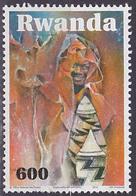 Timbre Oblitéré Rwanda 2010 - Artisanat - Rwanda