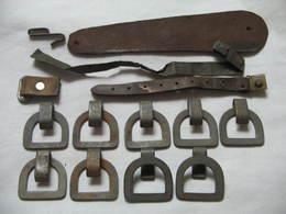 Lot Pieces Pour Casque, Kepi, Shako Ect Adrian XIX Ww1 Ww2 - Armes Blanches