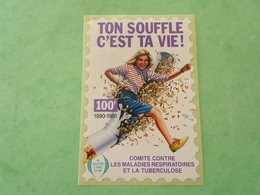 TC26 / ANTITUBERCULEUX / TUBERCULOSE Grande Vignette 100 Frs ; 1990/91  Neuf ** - Erinnofilia