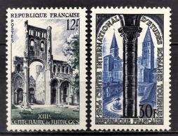 FRANCE 1954 -  Y.T. N° 985 ET 986 - NEUFS** /8 - Frankreich