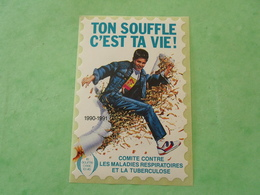 TC26 / ANTITUBERCULEUX / TUBERCULOSE Grande Vignette Sans Valeur Frs ; 1990/91  Neuf ** - Erinnofilia