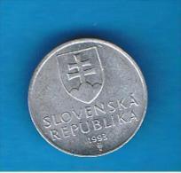 ESLOVAQUIA - 10 Haliers 1993 - Slowakei