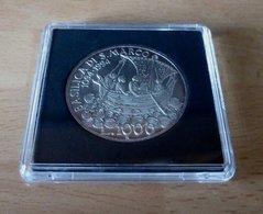"""1994 ITALIA REPUBBLICA """"ANNO MARCIANO / VENEZIA"""" 1000 LIRE / ARGENTO FDC (DA MINI FOLDER) - 1 000 Lire"""
