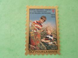 TC26 / ANTITUBERCULEUX / TUBERCULOSE Petite Vignette 50 Frs ; 1974/75  Neuf ** - Erinnofilia