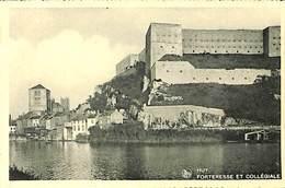 026 494- CPA - Belgique - Huy - Forteresse Et Collégiale - Huy