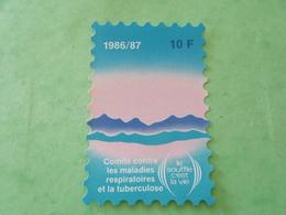 TC26 / ANTITUBERCULEUX / TUBERCULOSE Grande Vignette 10 Frs ; 1986/87  Neuf ** - Erinnofilia